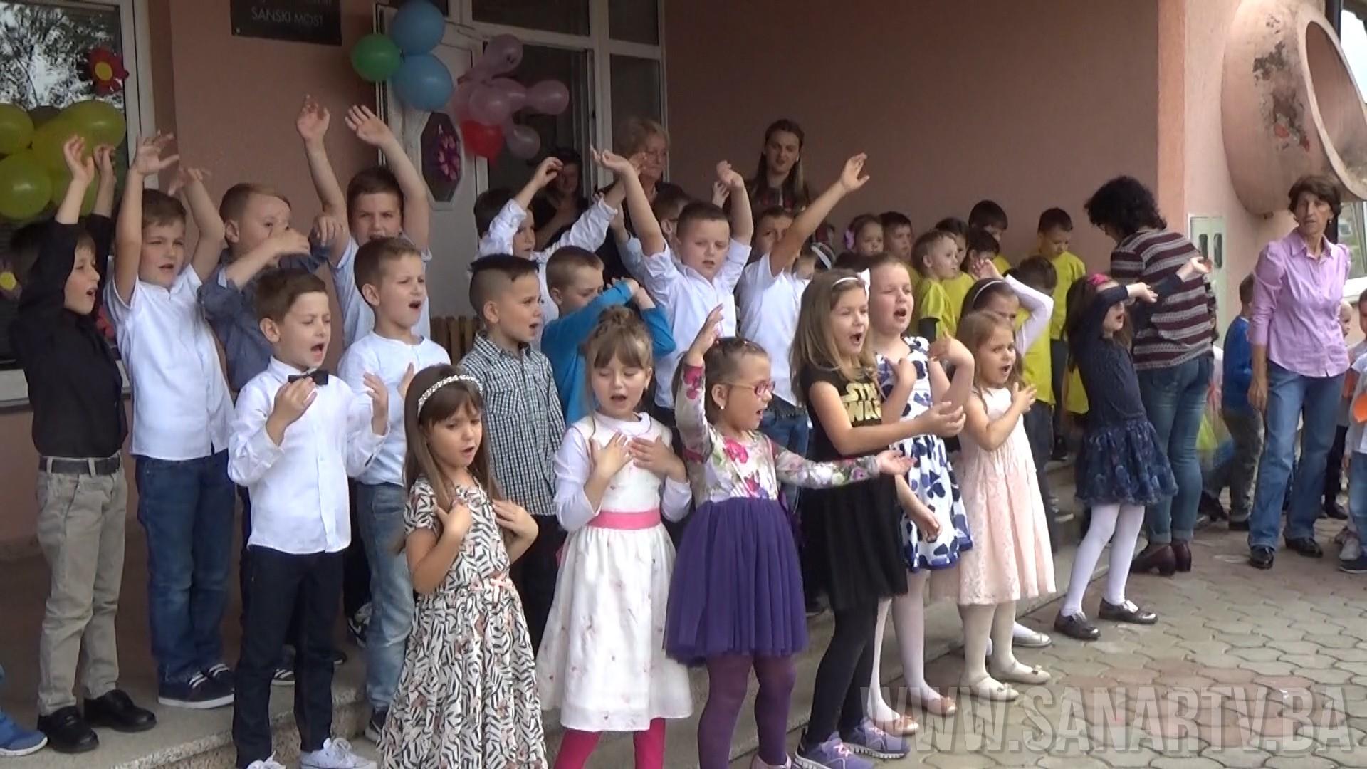 Svečana priredba povodom ispraćaja budućih školaraca