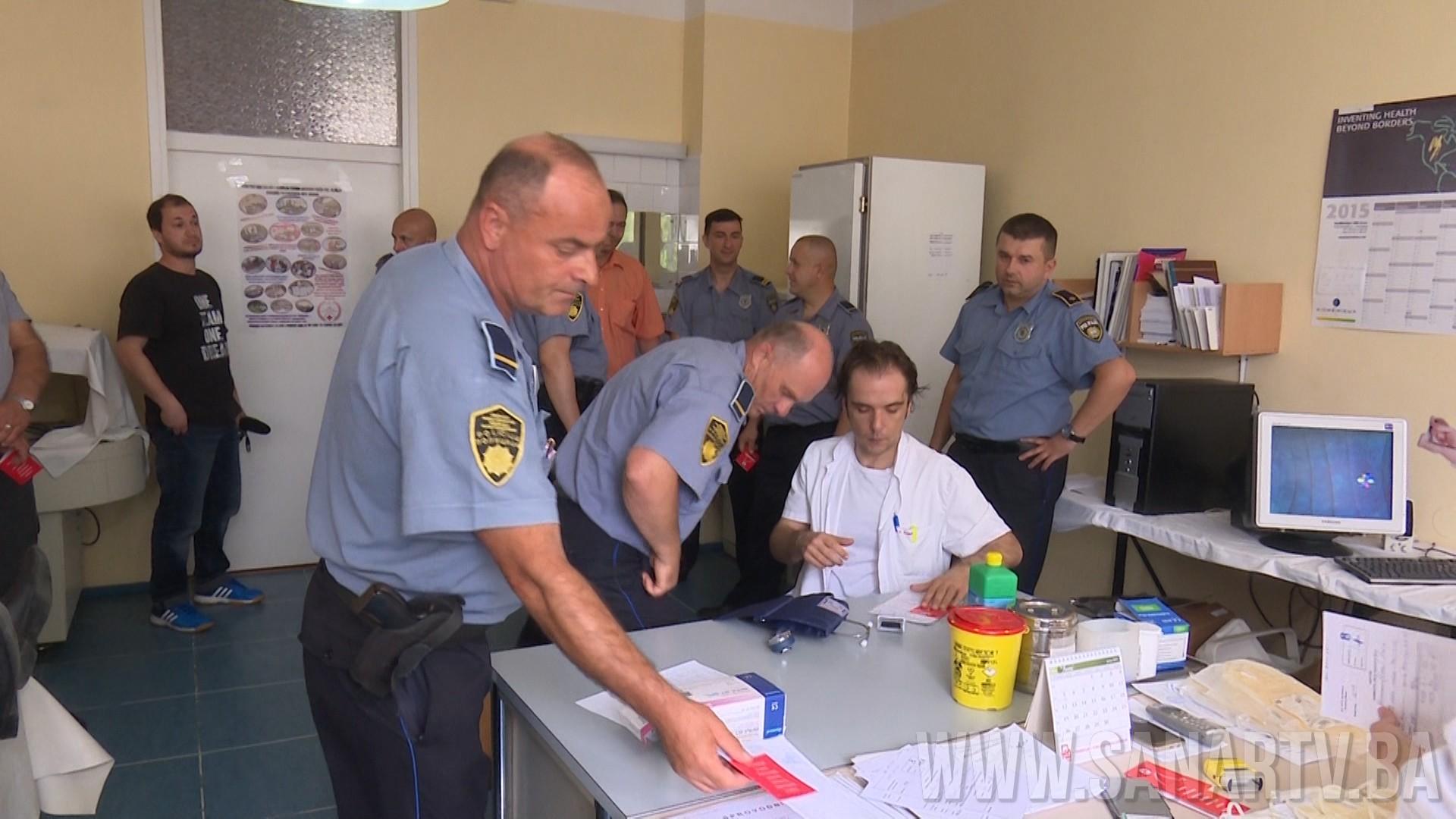 DARIVANJEM KRVI POČELO OBILJEŽAVANJE DANA POLICIJE USK