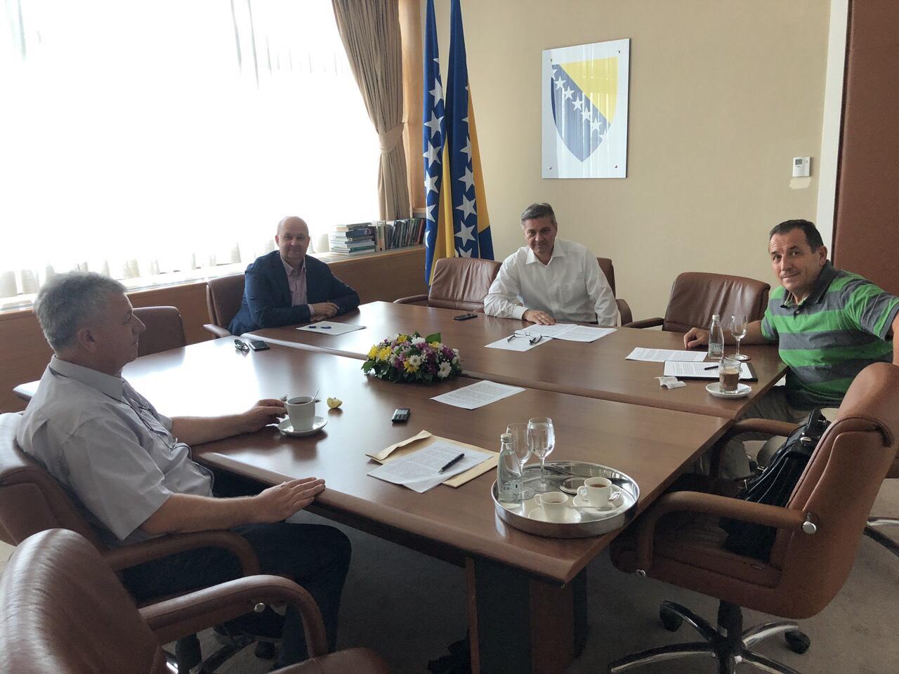 Zasjedao Radni sto za vanjsku politiku i euroatlantske integracije