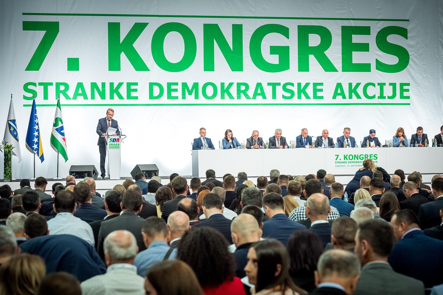"""ODJECI 7. KONGRESA SDA – """"PRAZNIK DEMOKRACIJE"""""""