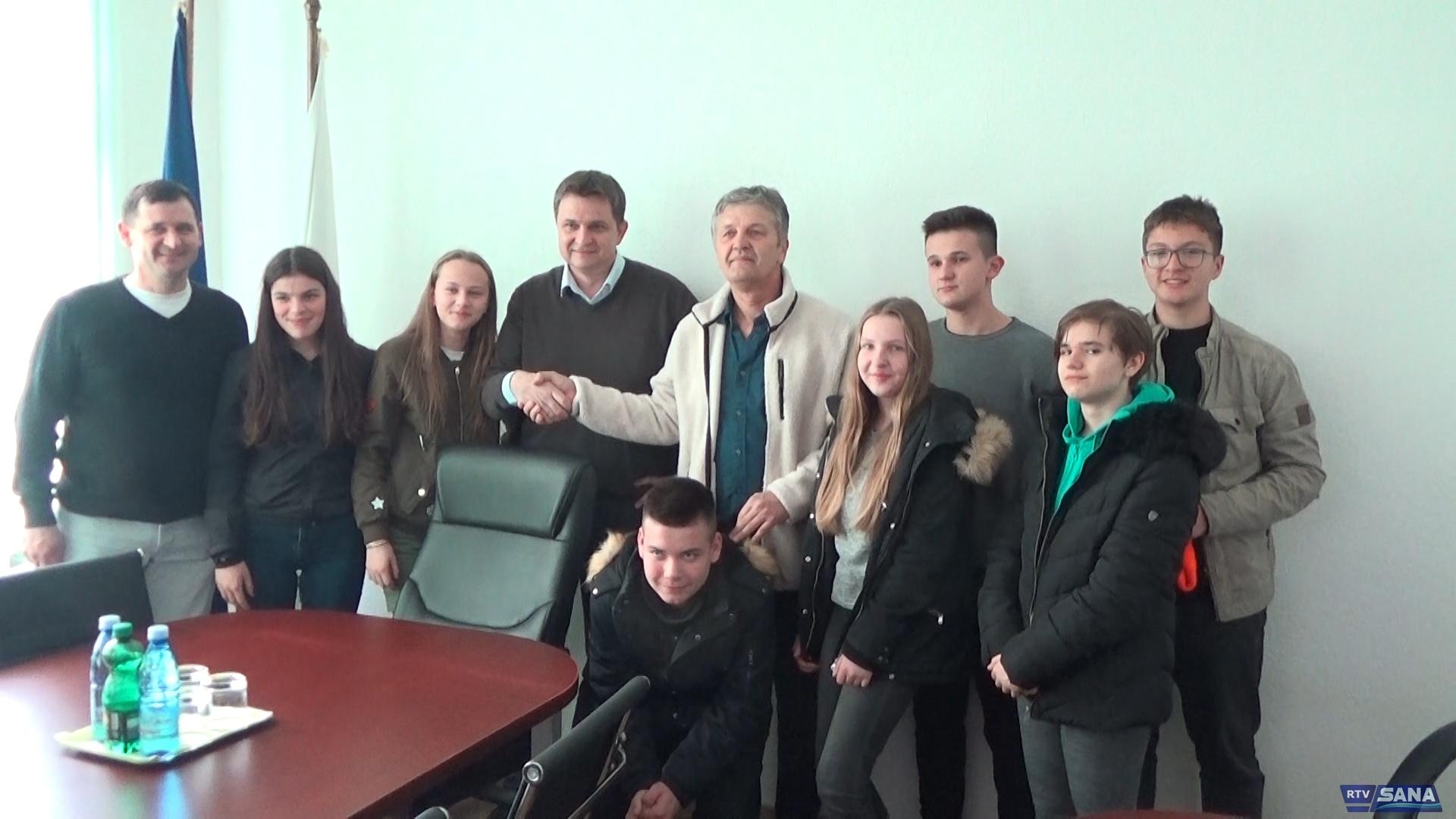 """NAČELNIK HASANBEGOVIĆ PRIMIO ČLANOVE SEKCIJE """"CIVITAS"""""""
