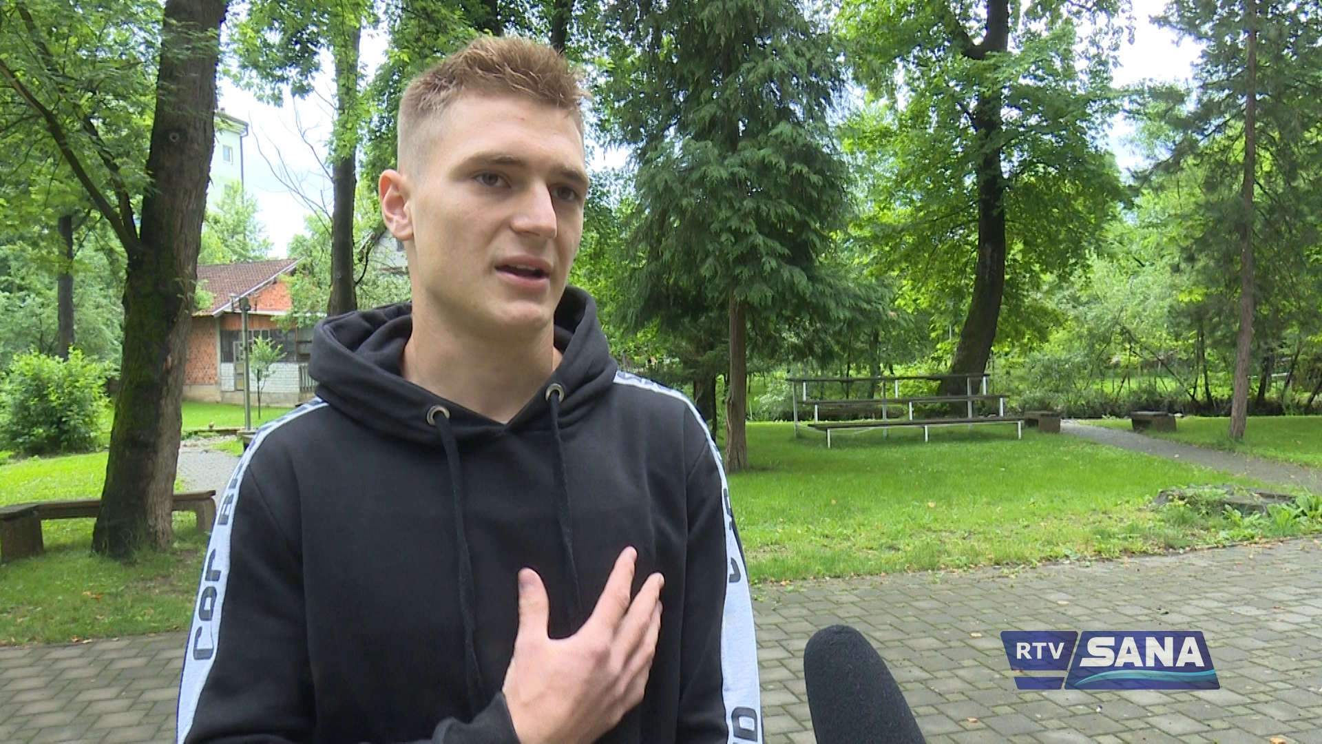 AMAR CERIĆ PONOVO BLISTAO U BH. DRESU