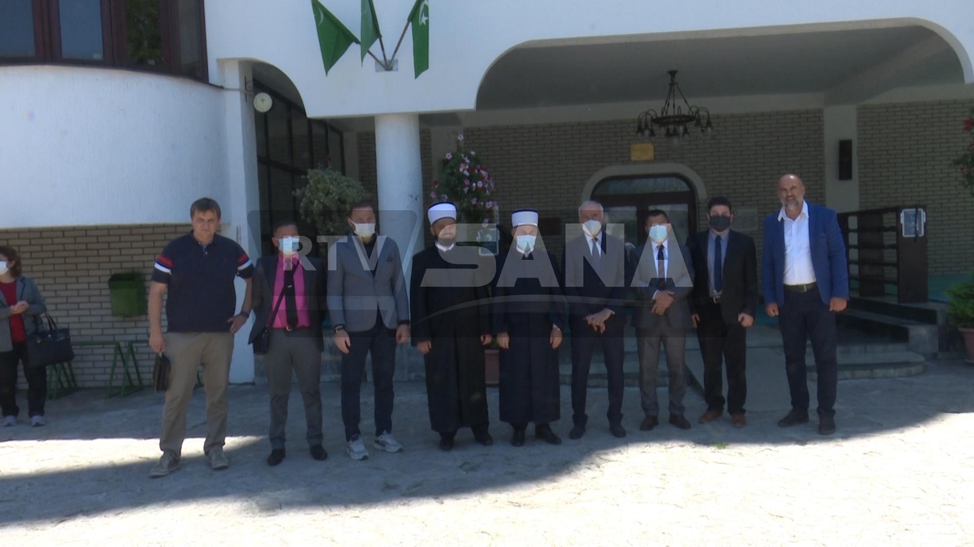 DIREKTOR GENERALNE DIREKCIJE VAKUFA TURSKE POSJETIO SANSKI MOST