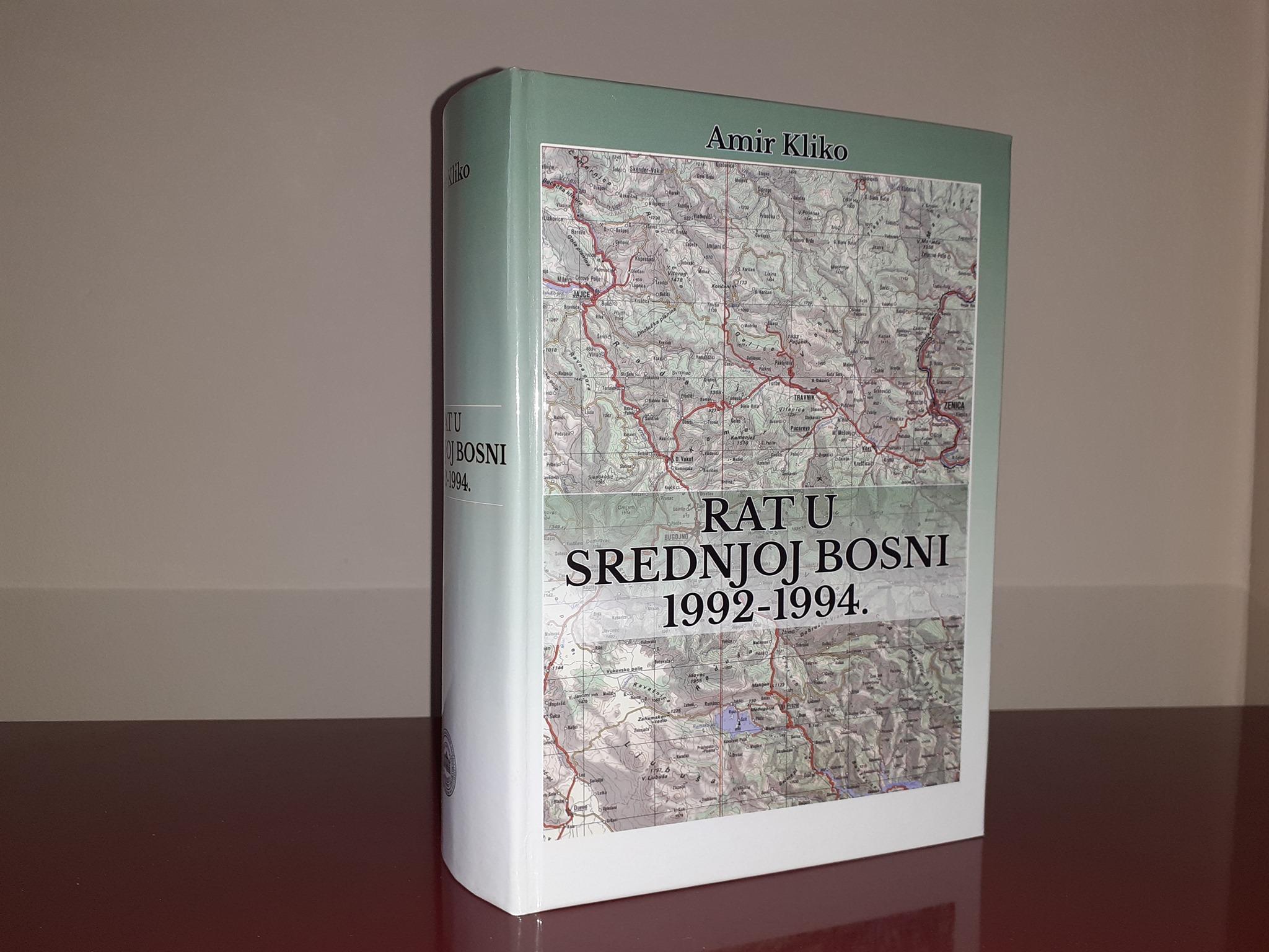 """U SUBOTU PROMOCIJA KNJIGE """"RAT U SREDNJOJ BOSNI 1992-1994"""""""
